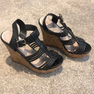ALDO black wedge. Size 6.5